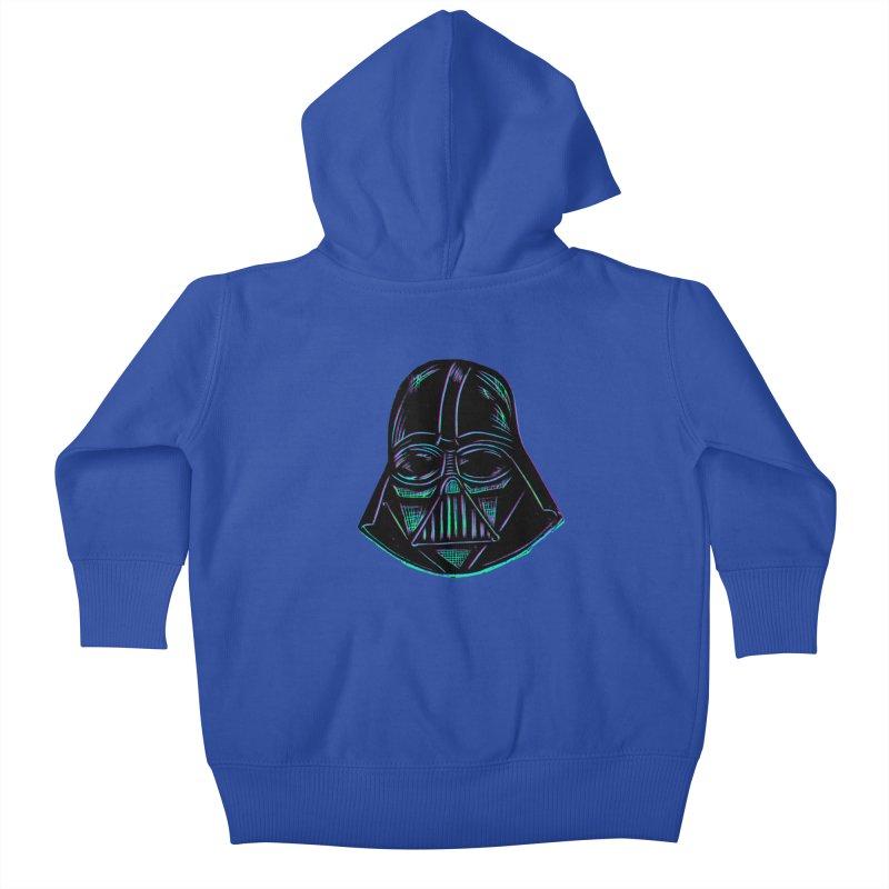 Vader Kids Baby Zip-Up Hoody by Sean StarWars' Artist Shop