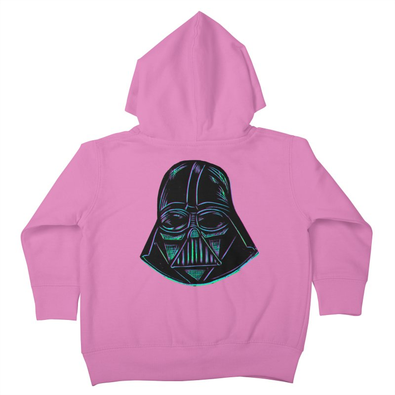 Vader Kids Toddler Zip-Up Hoody by Sean StarWars' Artist Shop
