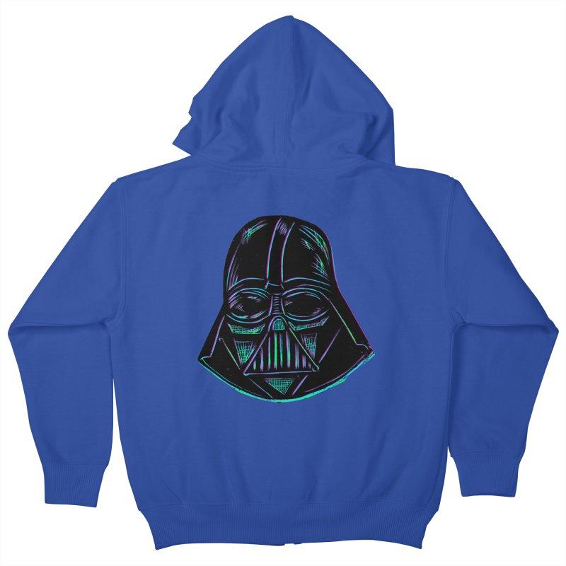 Vader Kids Zip-Up Hoody by Sean StarWars' Artist Shop