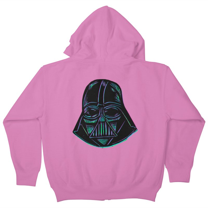 Vader Kids Zip-Up Hoody by Sean StarWars' Artist Shop