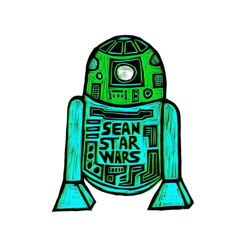 Sean Starwars Droid Women's Zip-Up Hoody by Sean StarWars' Artist Shop