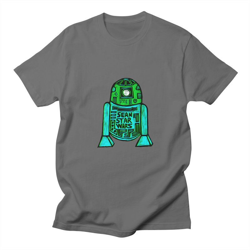 Sean Starwars Droid Men's Regular T-Shirt by Sean StarWars' Artist Shop