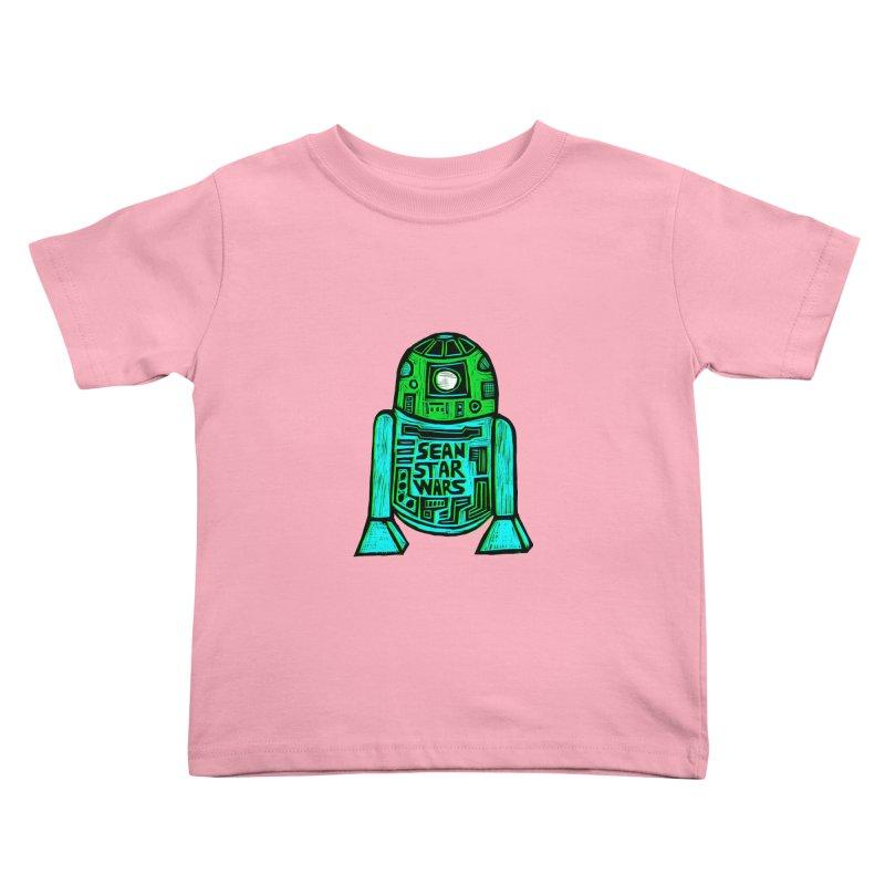 Sean Starwars Droid Kids Toddler T-Shirt by Sean StarWars' Artist Shop