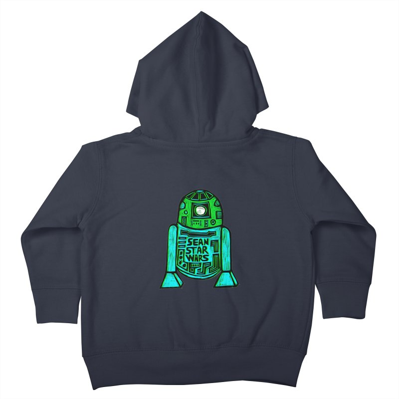 Sean Starwars Droid Kids Toddler Zip-Up Hoody by Sean StarWars' Artist Shop