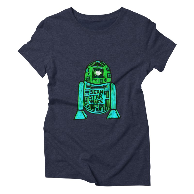 Sean Starwars Droid Women's Triblend T-shirt by Sean StarWars' Artist Shop