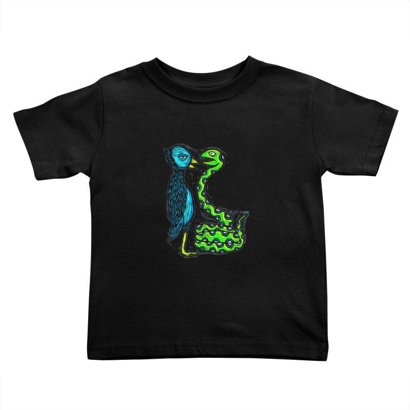 Hypnotized Kids Toddler T-Shirt by Sean StarWars' Artist Shop