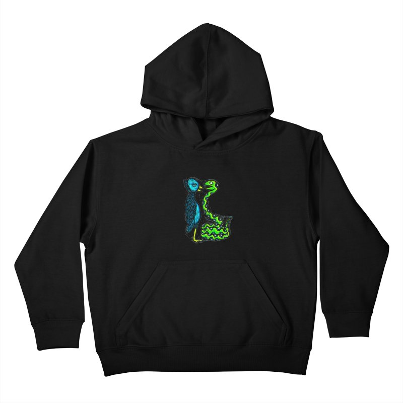 Hypnotized Kids Pullover Hoody by Sean StarWars' Artist Shop