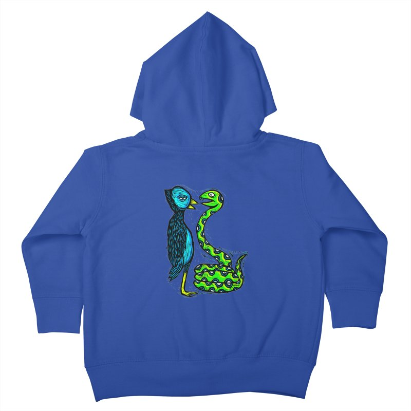 Hypnotized Kids Toddler Zip-Up Hoody by Sean StarWars' Artist Shop