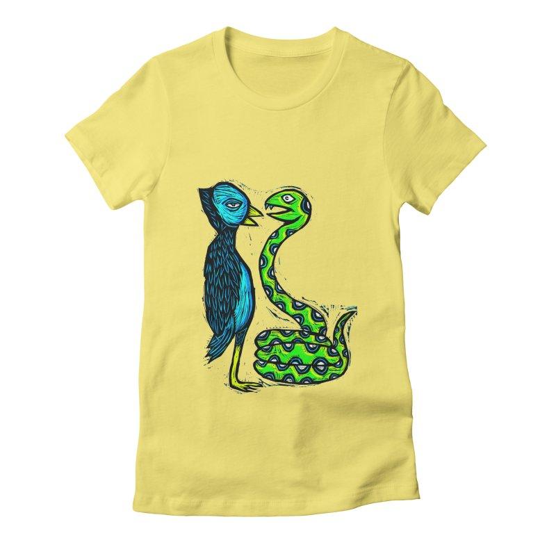 Hypnotized Women's Fitted T-Shirt by Sean StarWars' Artist Shop