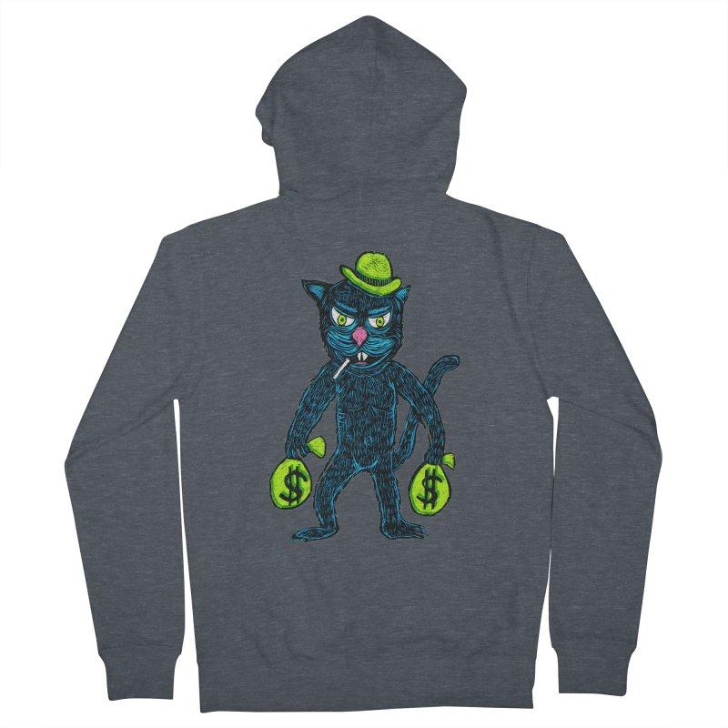 Cat Burglar Men's Zip-Up Hoody by Sean StarWars' Artist Shop
