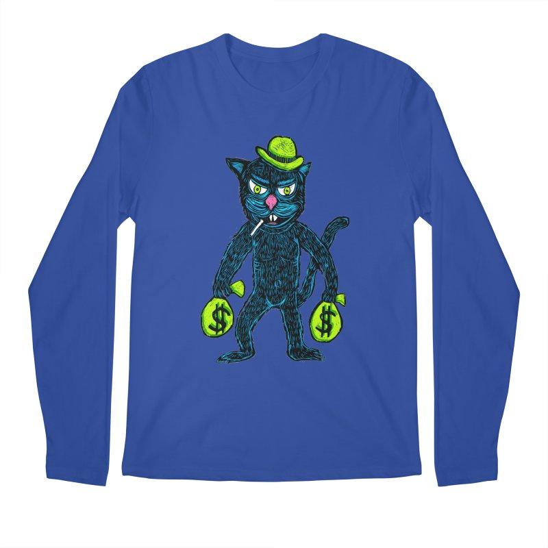 Cat Burglar Men's Longsleeve T-Shirt by Sean StarWars' Artist Shop