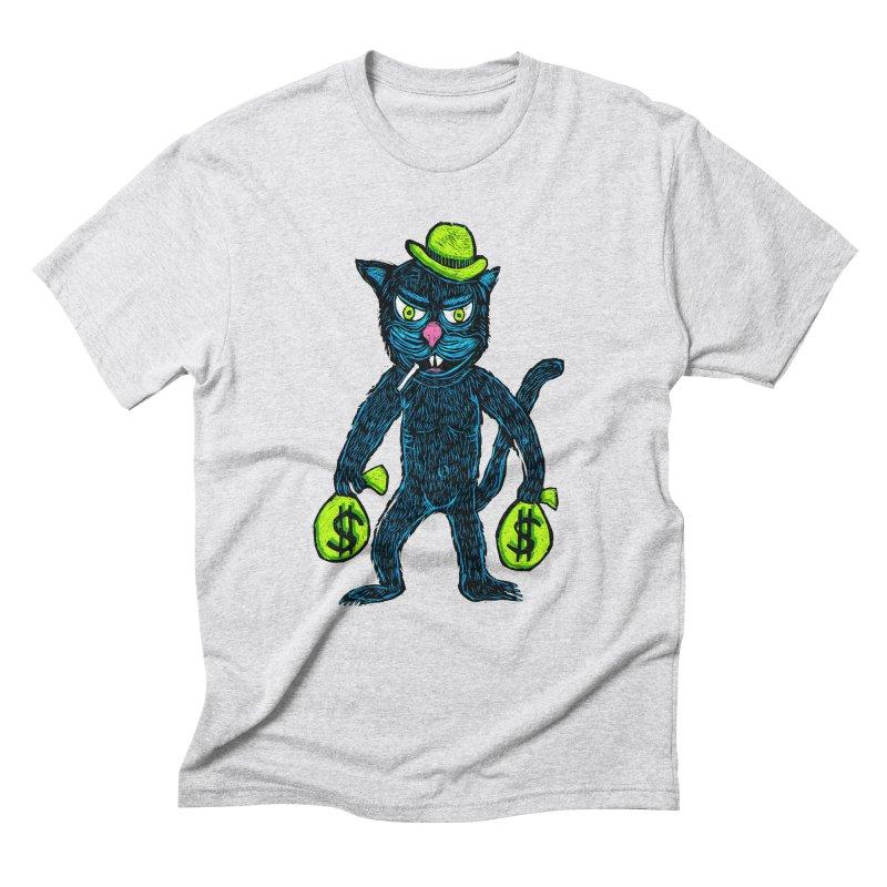 Cat Burglar Men's Triblend T-shirt by Sean StarWars' Artist Shop