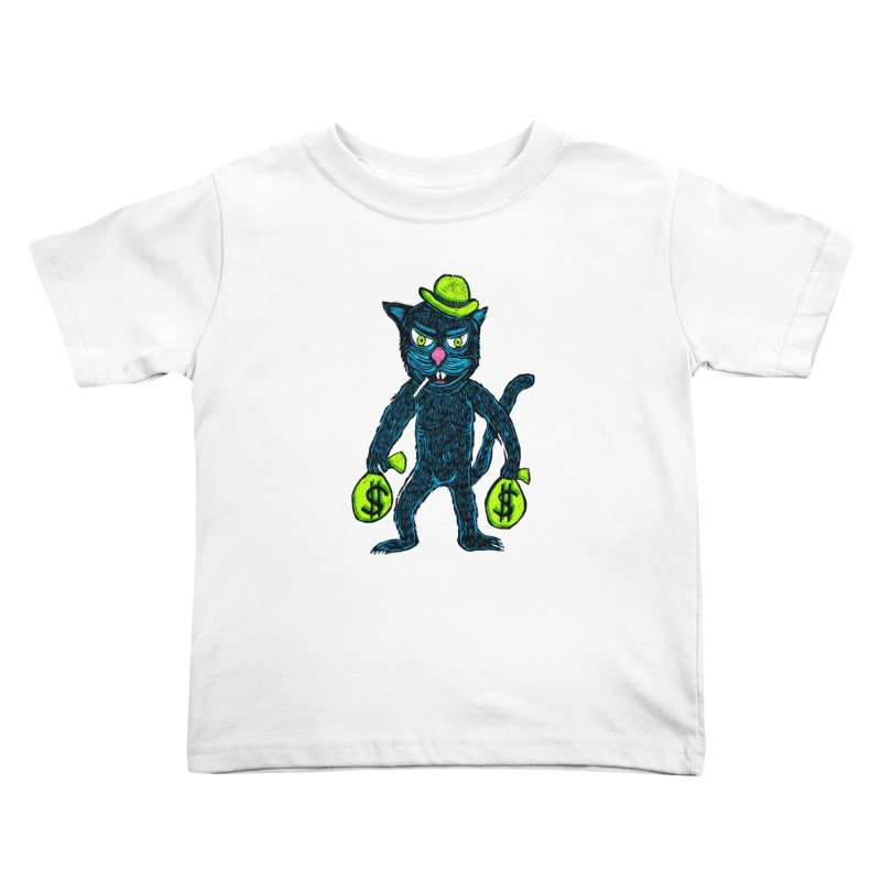 Cat Burglar Kids Toddler T-Shirt by Sean StarWars' Artist Shop