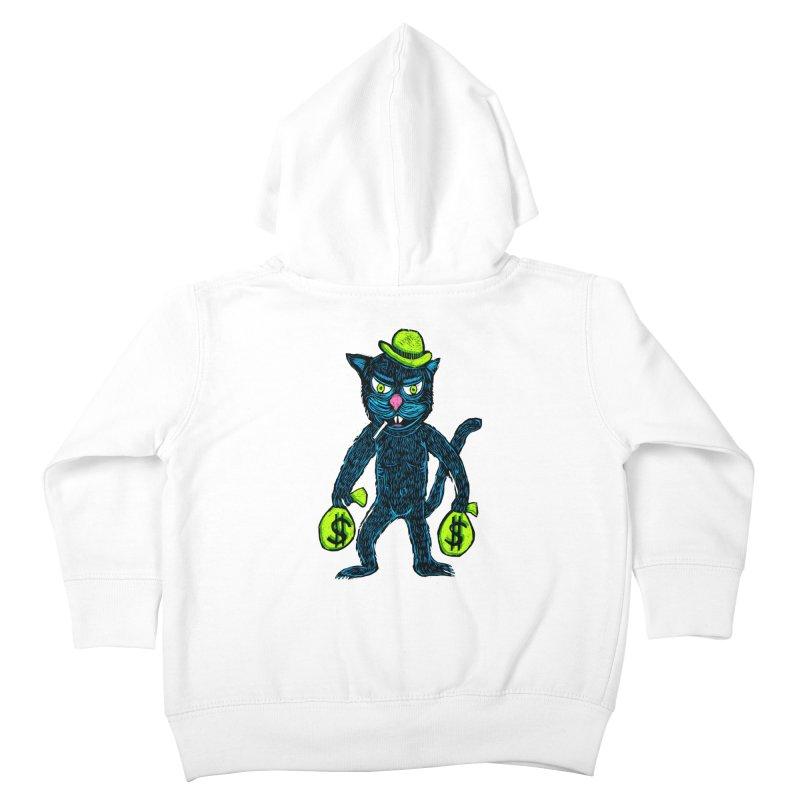 Cat Burglar Kids Toddler Zip-Up Hoody by Sean StarWars' Artist Shop