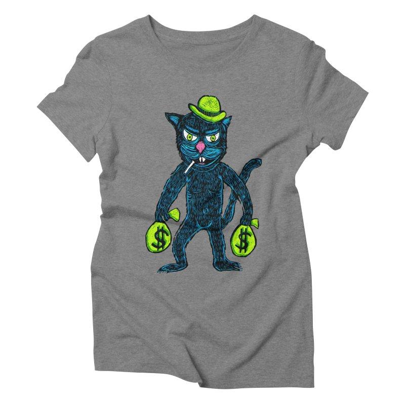 Cat Burglar Women's Triblend T-Shirt by Sean StarWars' Artist Shop