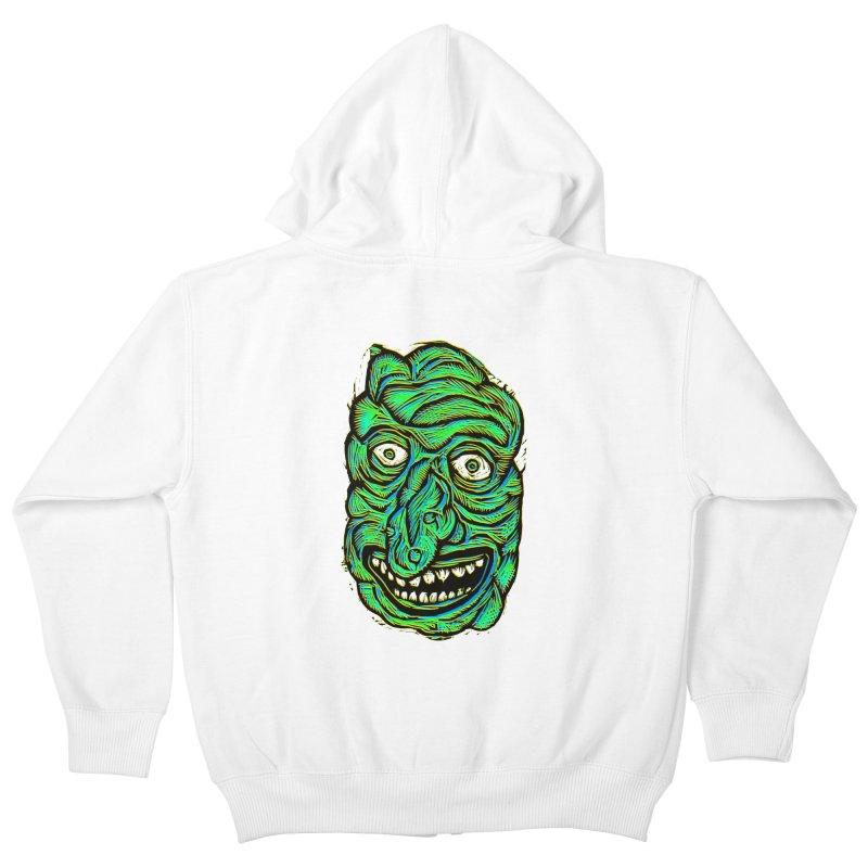 Scumbo Kids Zip-Up Hoody by Sean StarWars' Artist Shop