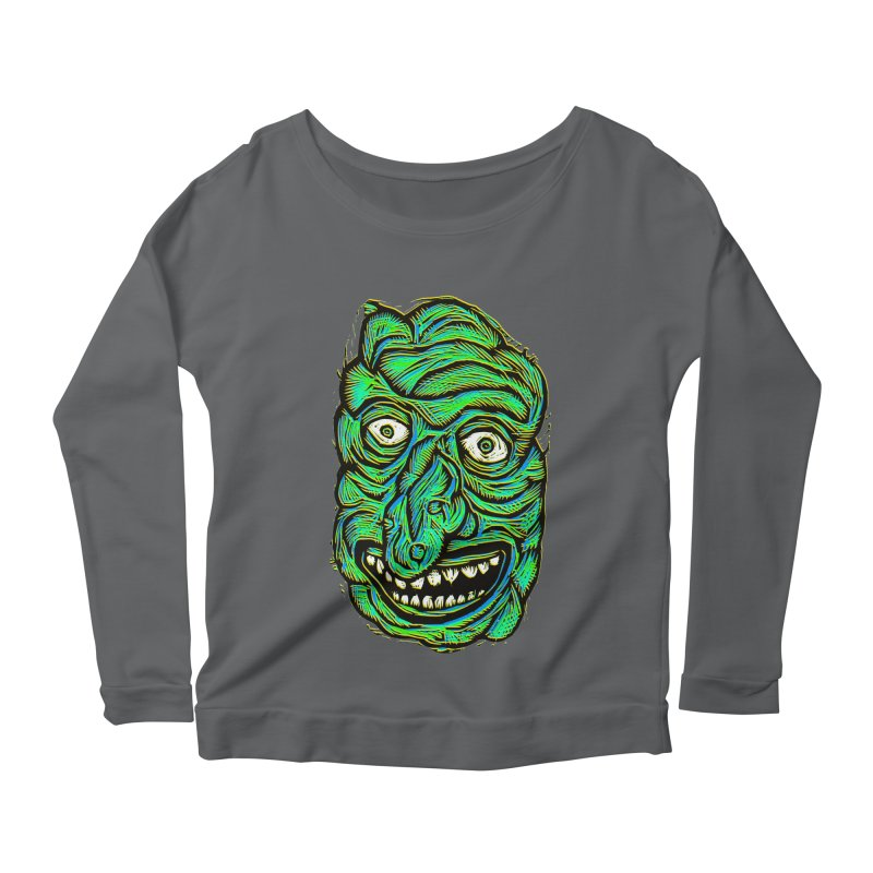 Scumbo Women's Longsleeve Scoopneck  by Sean StarWars' Artist Shop