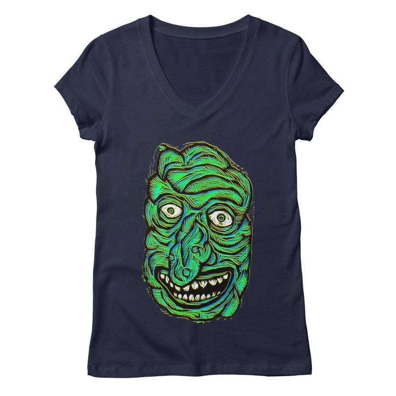 Scumbo Women's V-Neck by Sean StarWars' Artist Shop