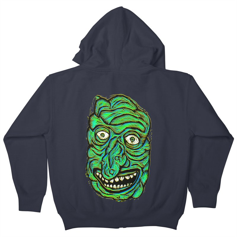 Scumbo Kids Zip-Up Hoody by Sean StarWars' Artist Shop