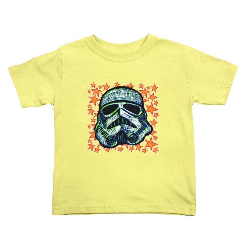 Trooper Kids Toddler T-Shirt by Sean StarWars' Artist Shop
