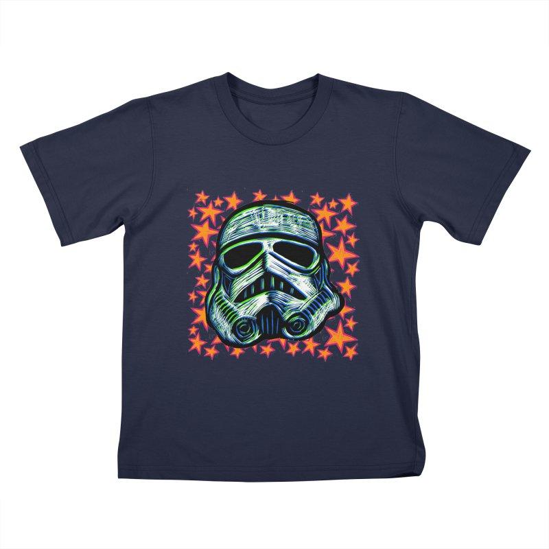 Trooper Kids T-shirt by Sean StarWars' Artist Shop