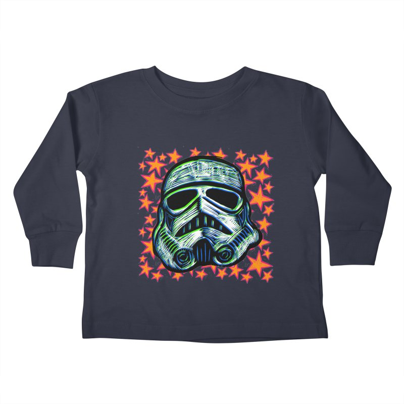 Trooper Kids Toddler Longsleeve T-Shirt by Sean StarWars' Artist Shop