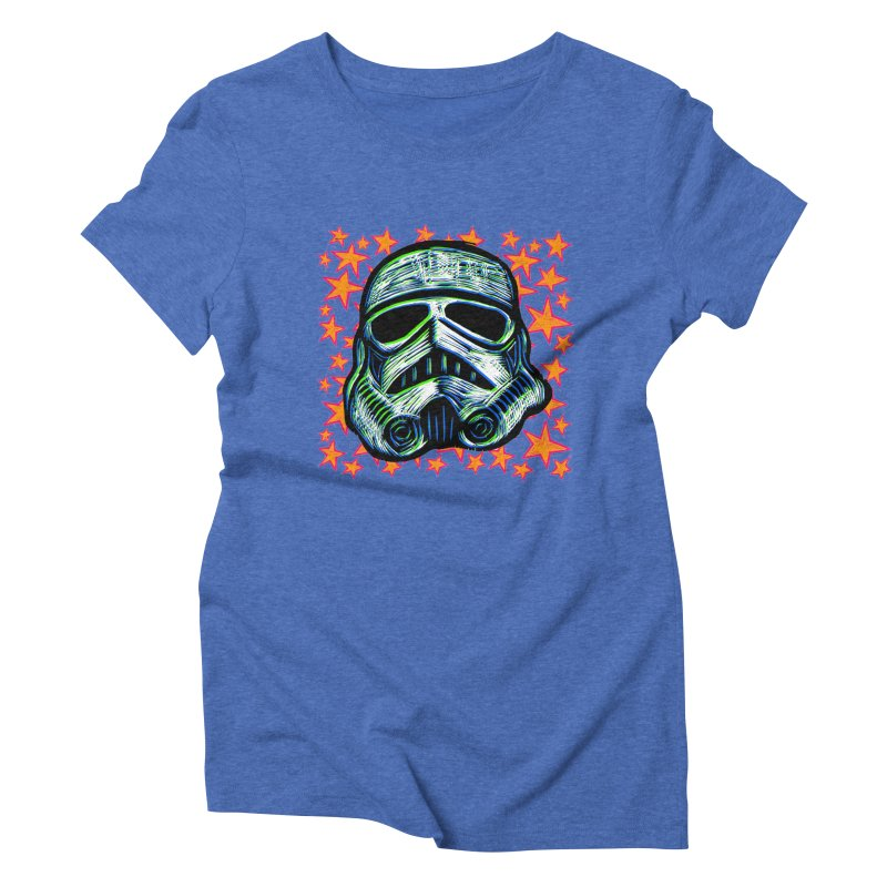Trooper Women's Triblend T-shirt by Sean StarWars' Artist Shop