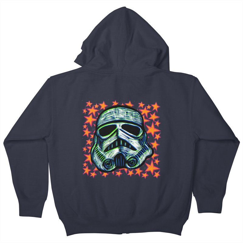 Trooper Kids Zip-Up Hoody by Sean StarWars' Artist Shop