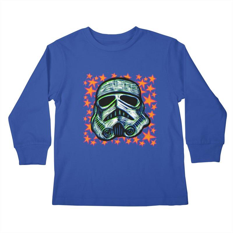 Trooper Kids Longsleeve T-Shirt by Sean StarWars' Artist Shop