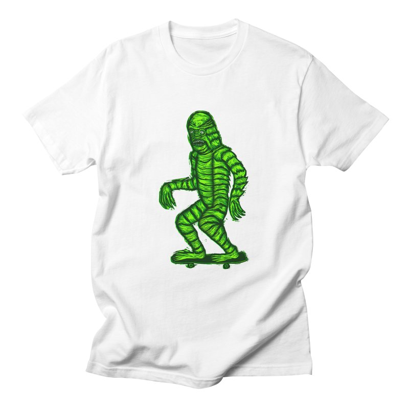 The Creature Skates Among Us Women's T-Shirt by Sean StarWars' Artist Shop