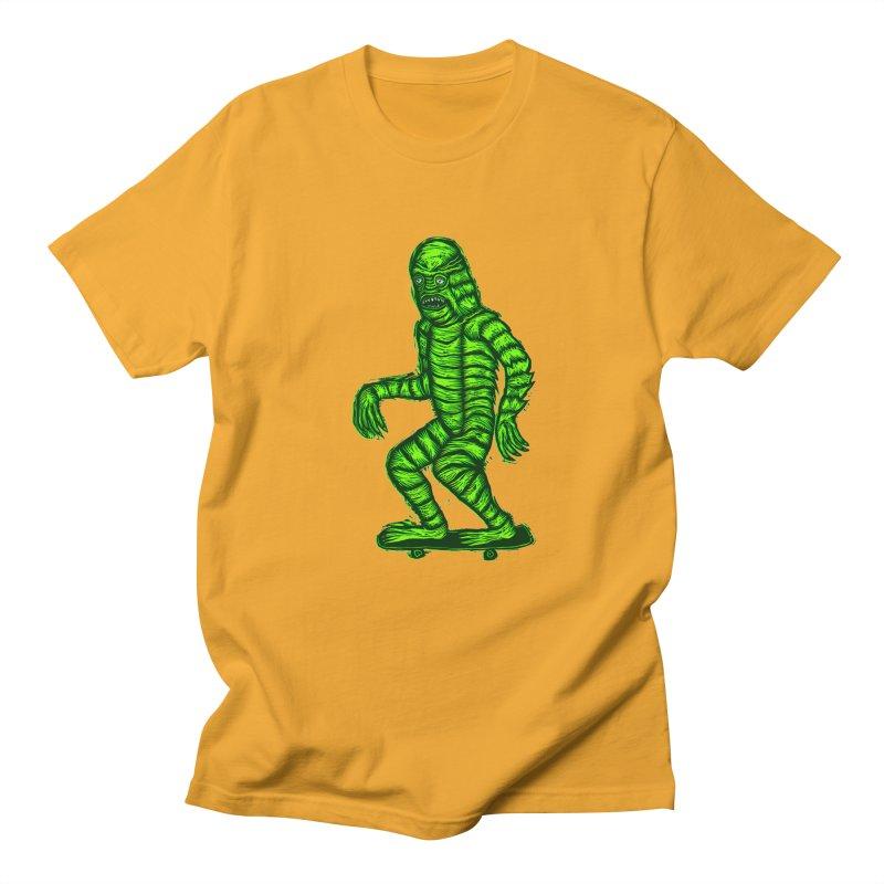 Skating Creature Men's T-Shirt by Sean StarWars' Artist Shop