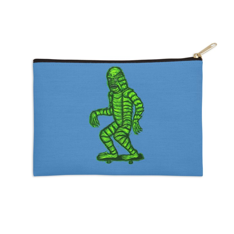 The Creature Skates Among Us Accessories Zip Pouch by Sean StarWars' Artist Shop