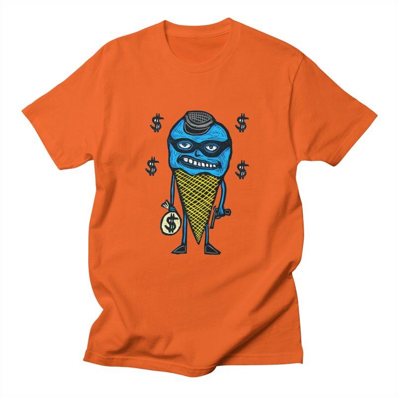Bank Robber Cone Men's T-Shirt by Sean StarWars' Artist Shop
