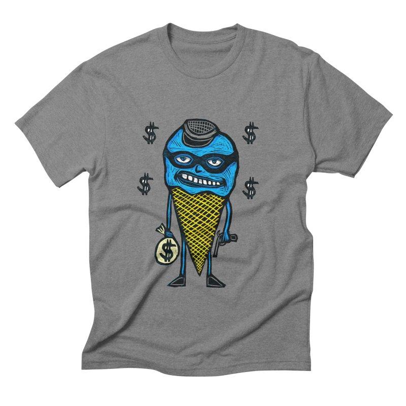 Bank Robber Cone Men's Triblend T-shirt by Sean StarWars' Artist Shop