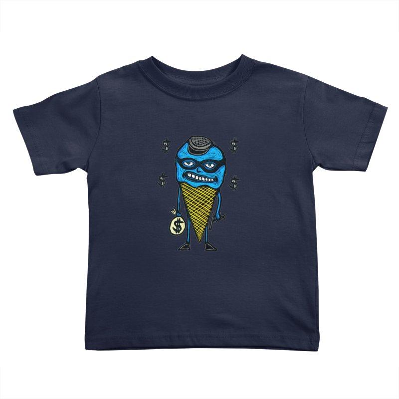 Bank Robber Cone Kids Toddler T-Shirt by Sean StarWars' Artist Shop