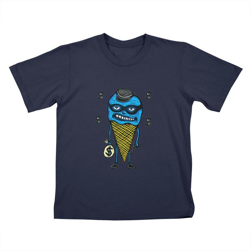 Bank Robber Cone Kids T-shirt by Sean StarWars' Artist Shop