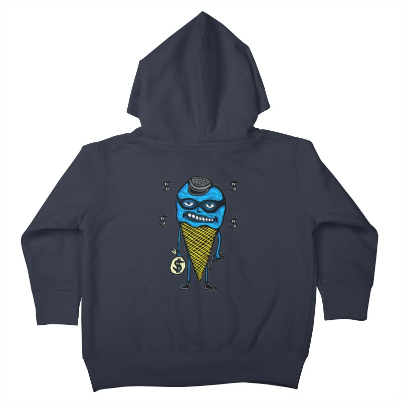 Bank Robber Cone Kids Toddler Zip-Up Hoody by Sean StarWars' Artist Shop