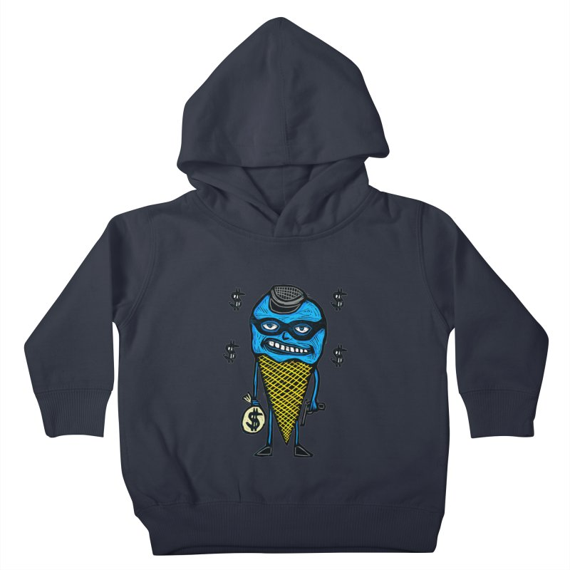 Bank Robber Cone Kids Toddler Pullover Hoody by Sean StarWars' Artist Shop
