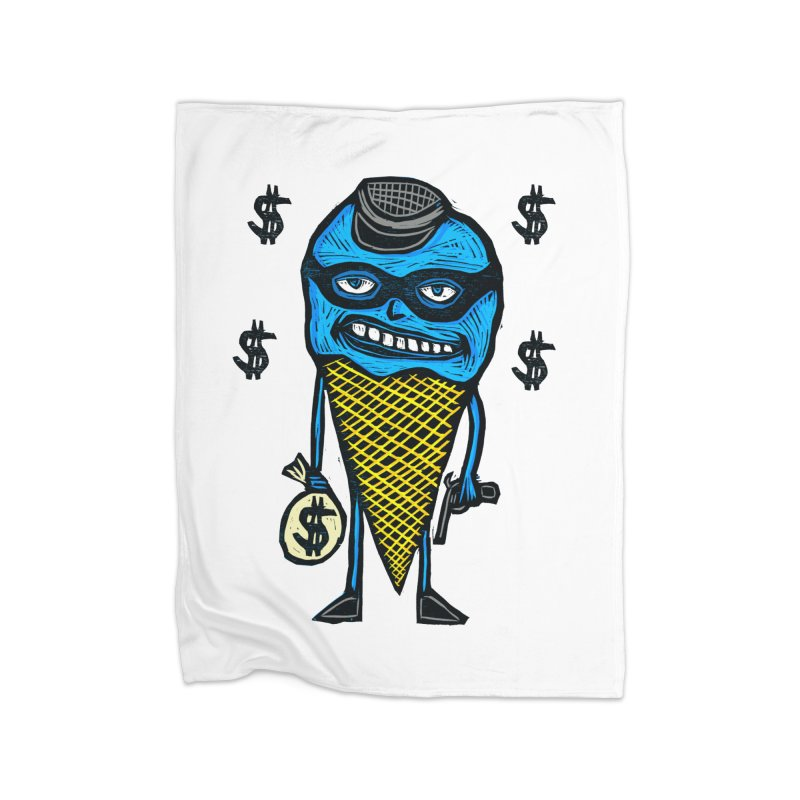 Bank Robber Cone Home Blanket by Sean StarWars' Artist Shop