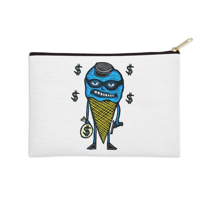 Bank Robber Cone Accessories Zip Pouch by Sean StarWars' Artist Shop