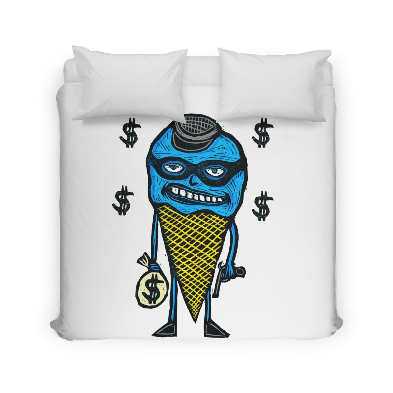 Bank Robber Cone Home Duvet by Sean StarWars' Artist Shop