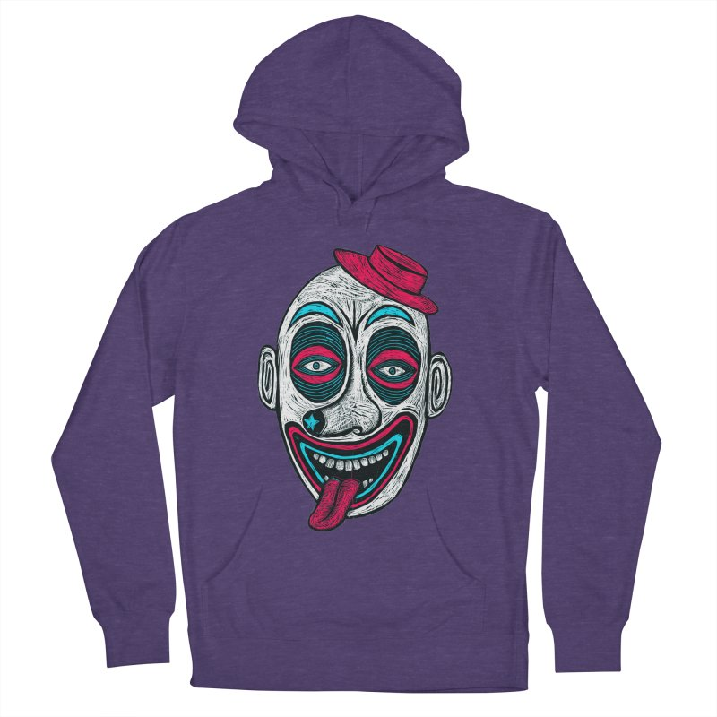 Clown Men's French Terry Pullover Hoody by Sean StarWars' Artist Shop