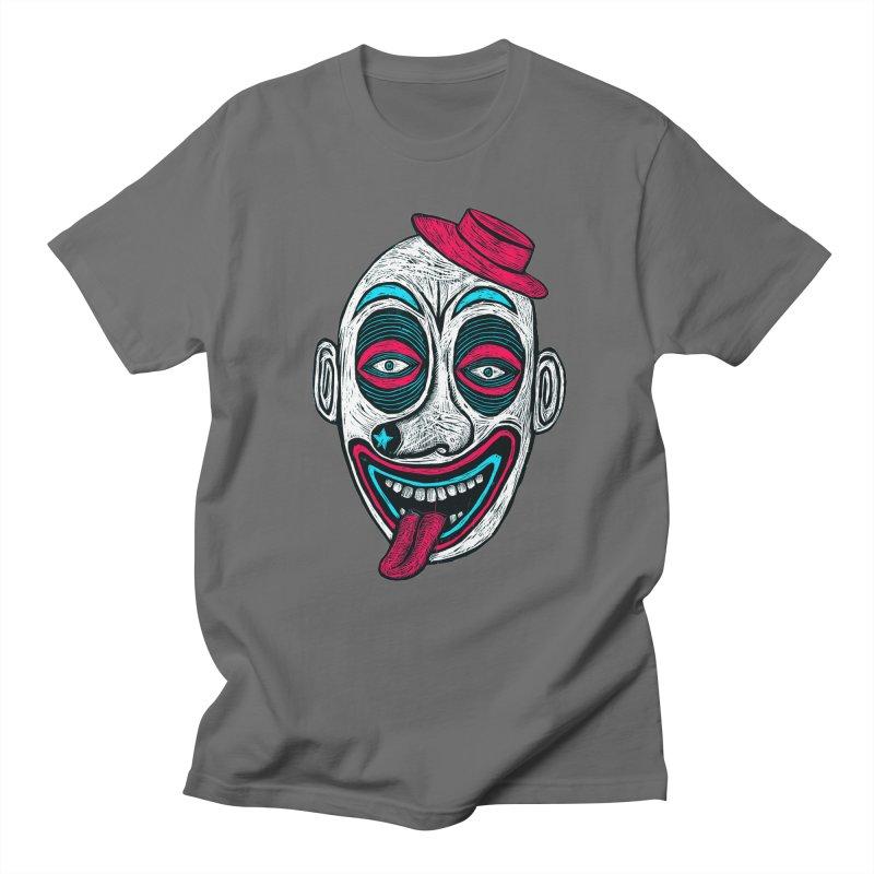 Clown Men's Regular T-Shirt by Sean StarWars' Artist Shop