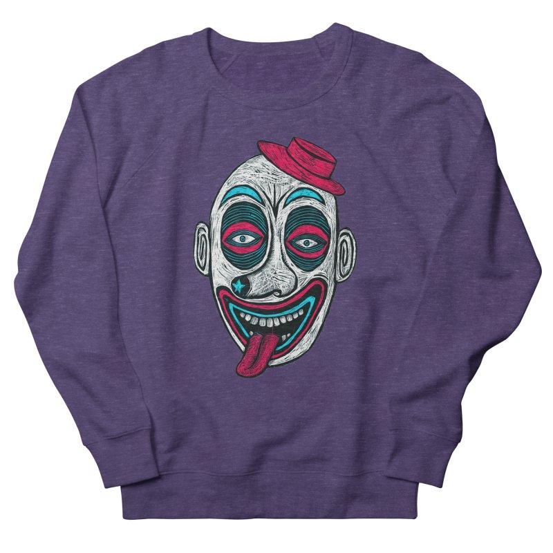 Clown Men's French Terry Sweatshirt by Sean StarWars' Artist Shop