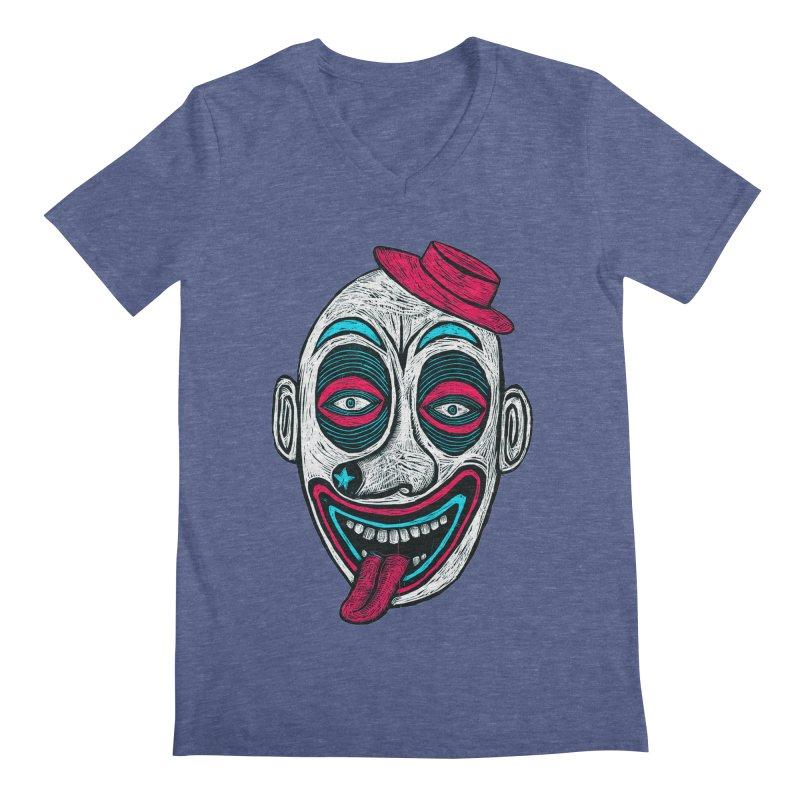Clown Men's Regular V-Neck by Sean StarWars' Artist Shop