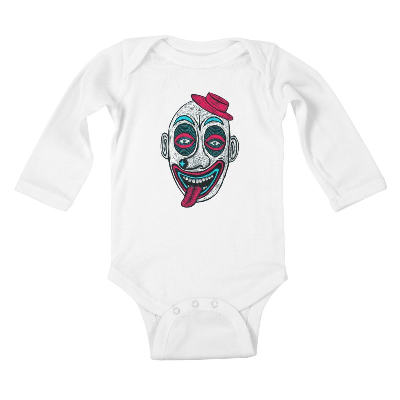 Clown Kids Baby Longsleeve Bodysuit by Sean StarWars' Artist Shop