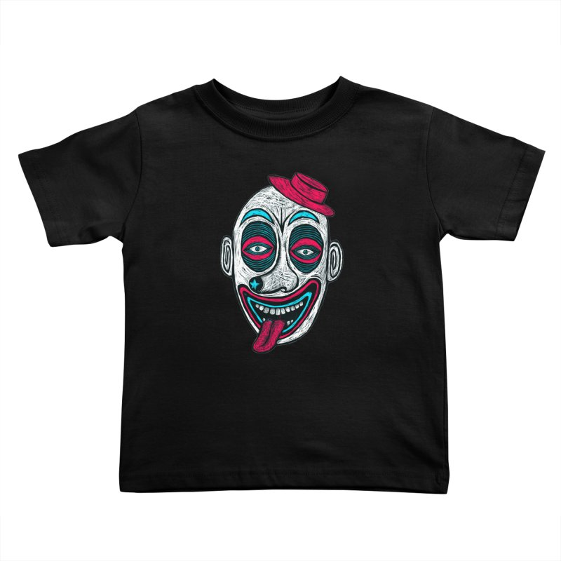 Clown Kids Toddler T-Shirt by Sean StarWars' Artist Shop