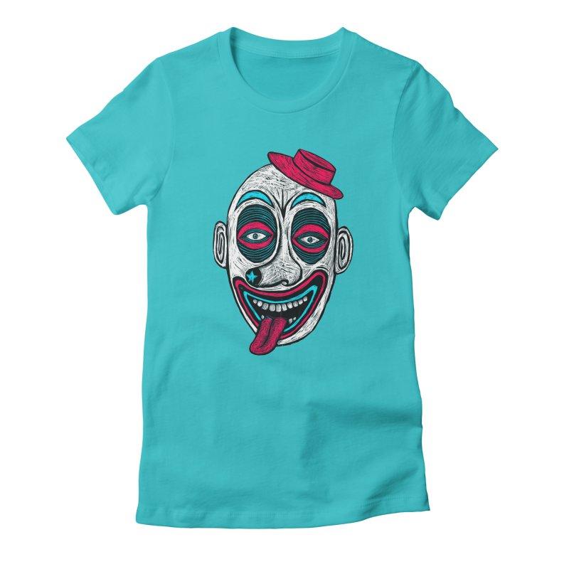 Clown Women's T-Shirt by Sean StarWars' Artist Shop