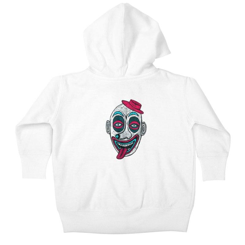 Clown Kids Baby Zip-Up Hoody by Sean StarWars' Artist Shop