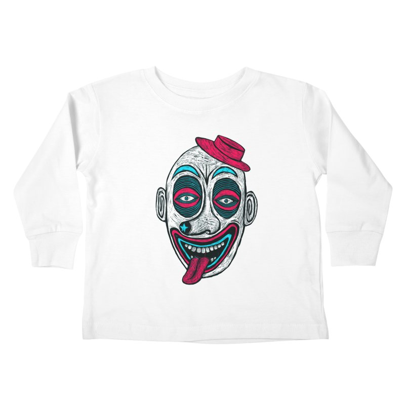 Clown Kids Toddler Longsleeve T-Shirt by Sean StarWars' Artist Shop